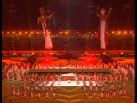 Commonwealth Games Opening Ceremony Delhi 2010 Part 1 Opening Ceremony