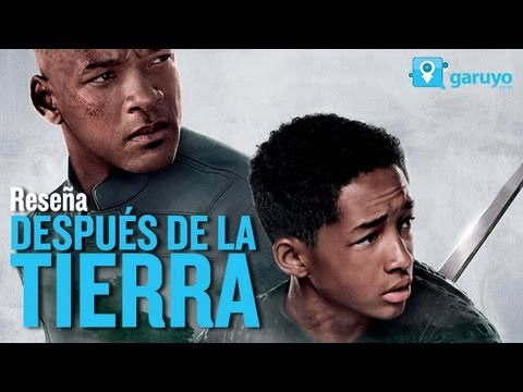 Despues de la tierra. After Earth - RESEÑA. La Palomera. Garuyo