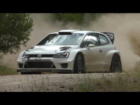 RALLY ACROPOLIS 2013 LATVALA VW POLO WRC TEST HD MK2