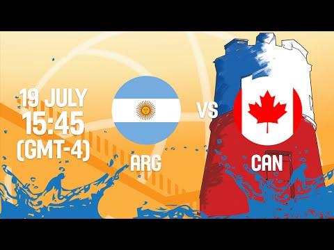 Argentina v Canada - Full Game - Group A - 2016 FIBA Americas U18 Men's Championship