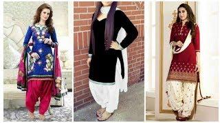 Ladies Designer Patiala Salwar Suit || Fancy Suit Design For Woman Collection 2019 2020