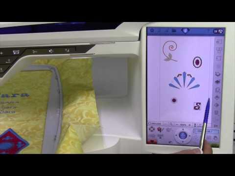 Husqvarna Viking Designer Diamond 104 Embroidery File Manager