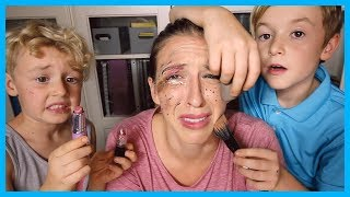 My Nephews Do My Makeup!