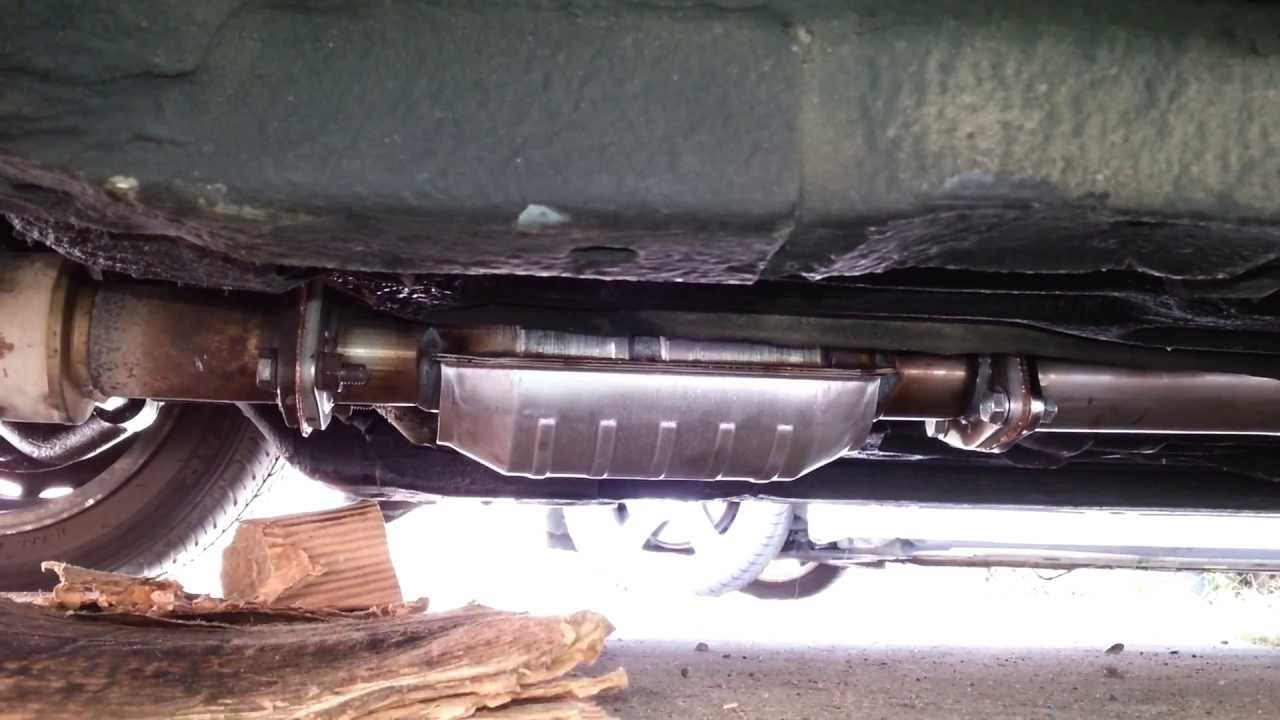 Diy How To Install A Honda Catalytic Converter Amp Exhaust System Pt 2 Youtube