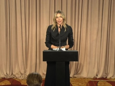 Maria Sharapova Admits Failed Drug Test