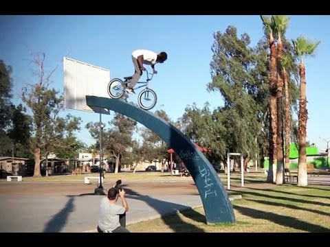 FIT BIKES - MEXICO TO ARIZONA - BMX STREET VIDEO
