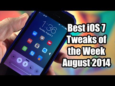 Best iOS 7 Cydia Tweaks of the Week - August 2014