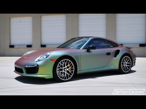 Plasti Dip A New Porsche Youtube