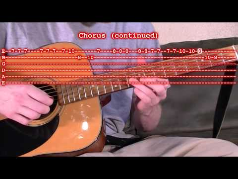0 Jingle Bells Guitar Tab Lesson