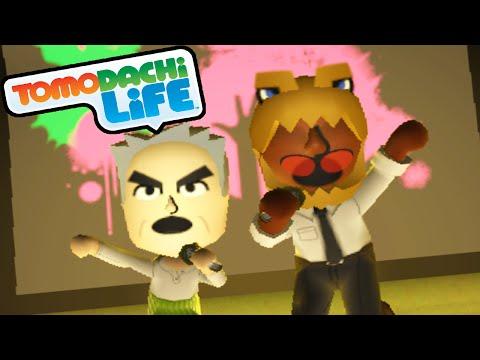 Tomodachi Life: Zelda Skate Trick. PokeRap Group Song Mii Gameplay W