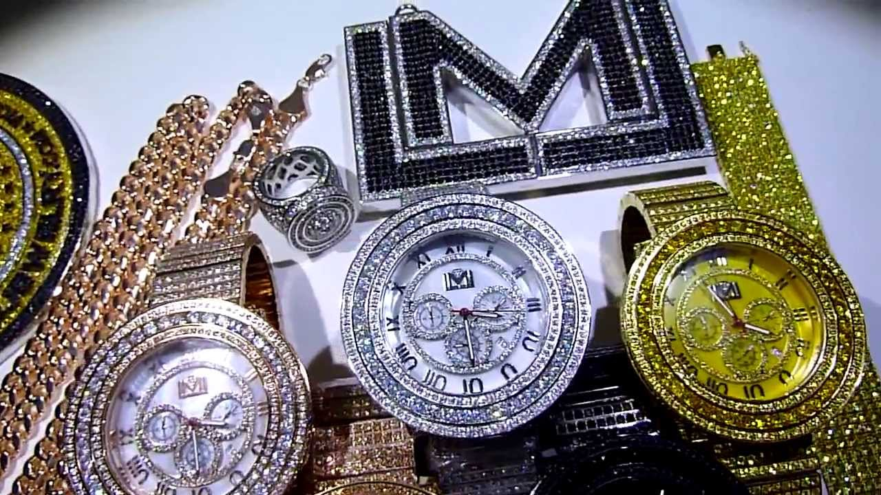 Custom watches by labmadejewelry lmj co fully loaded for Custom lab made hip hop jewelry