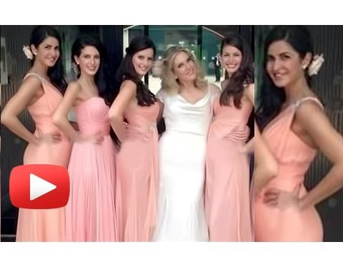 Katrina Kaif Looks Stunning In A Pink Gown At Her Sisters Wedding video