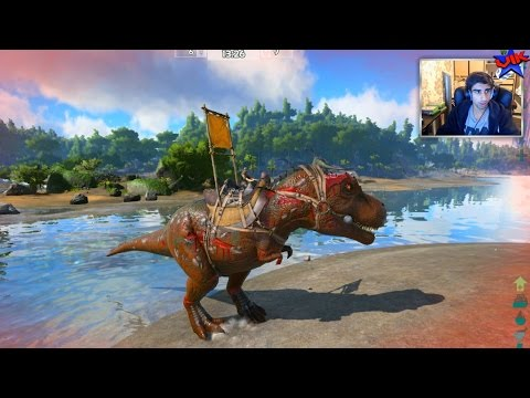 T-REX TIME! - Ark Survival Of The Fittest #2 - Ark Hunger Games
