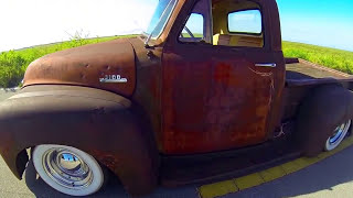 Patina Bagged Ratrod Truck, 47-54 BAD ASS TRUCK