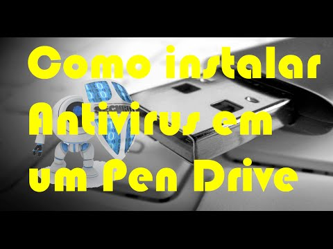 Como instalar antivirus em pen drive