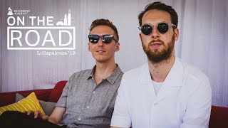 HONNE Talks 'Love Me / Love Me Not,' Drinking Tea On Tour & Next LP At Lollapalooza | On The Road