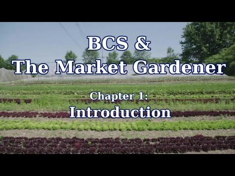 Why JM Fortier Uses a BCS Tractor in his Market Garden