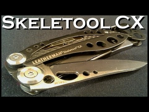 Leatherman Skeletool CX -
