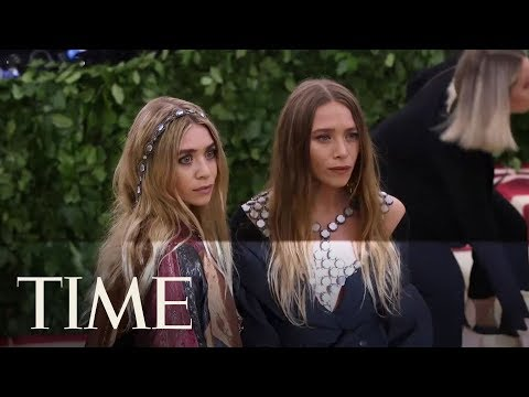 The Olsen Twins Graced The 2018 Met Gala With Their Ethereal Presence | TIME