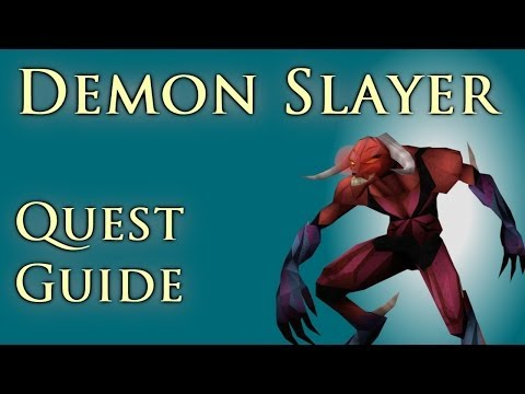 RSQuest: Demon Slayer Quest Guide – Runescape RS3 2014