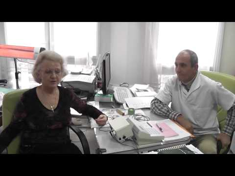 Russian patient. Her treatments result in Burgas-Bulgaria