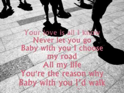 keep walking lyrics: