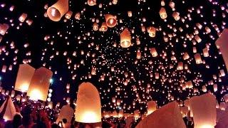 Loy Krathong Lantern Festival Chiang Mai Thailand Gopro Hero3+