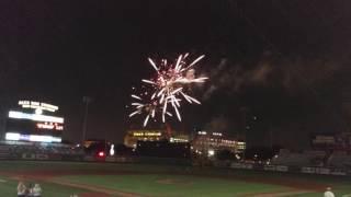 LSU Baseball Fireworks Show, May 20 2016