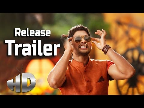Race Gurram Release Trailer - Allu Arjun, Shruti Haasan video