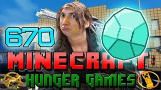 """BETTY AXE AND DIAMONDS"" Minecraft: Hunger Games w/Bajan Canadian! Game 670"