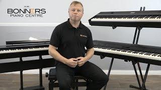 Yamaha P515 vs Roland FP90 vs Kawai ES8 Direct Piano Sound Comparison