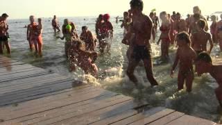Веселье на пляже в Коблево!