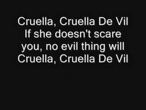 Selena Gomez Cruella De Vil (With Lyrics)