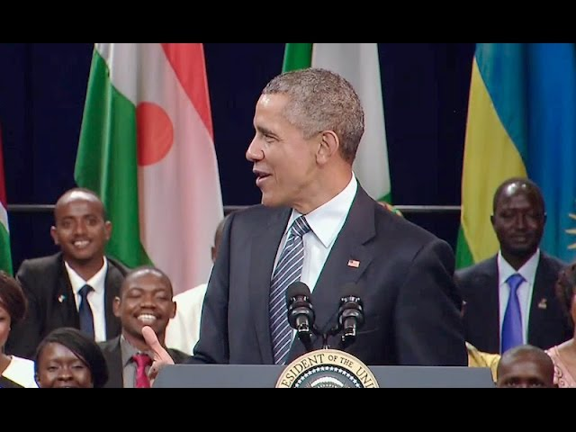 The President Speaks at the YALI 2015 Summit