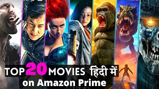 "Top 20 Hollywood ""Best Hindi Dubbed Movies""on AMAZON PRIME in 2020 
