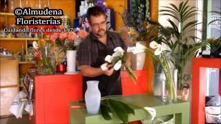 Como hacer ramo de novia con calas
