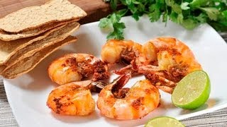Camarones al mojo de ajo - Shrimp with Garlic Sauce