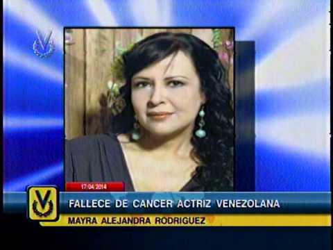 Fallece la actriz venezolana Mayra Alejandra