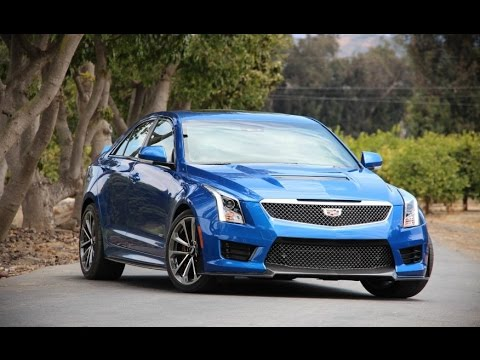 Cadillac ATS-V Sedan Manual 2016 Car Review