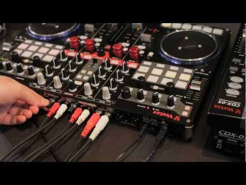 Firmware Update TUTORIAL: Stand-alone mixer functions added to Vestax VCI-400 DJ MIDI Controller