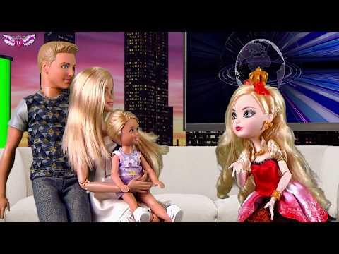 История Барби и Кен участвуют в Тв ШОУ. Приключения Барби и Челси Видео для детей