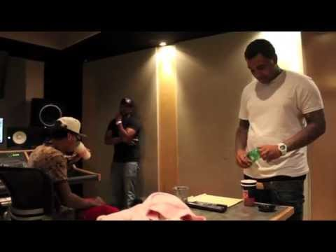 Kevin Gates X Yung Mazi In-studio With Ke On The Track video