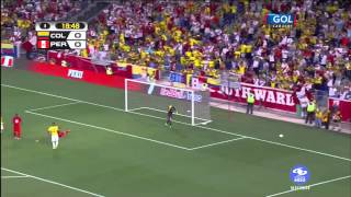 Peru vs Colombia 1-1 [Friendly Match-Amistoso Internacional] 8/9/2015 - 1er Tiempo