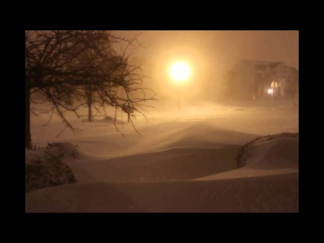 Blizzard of 2011 Time Lapse Chicago Suburbs Captured in 29 Seconds