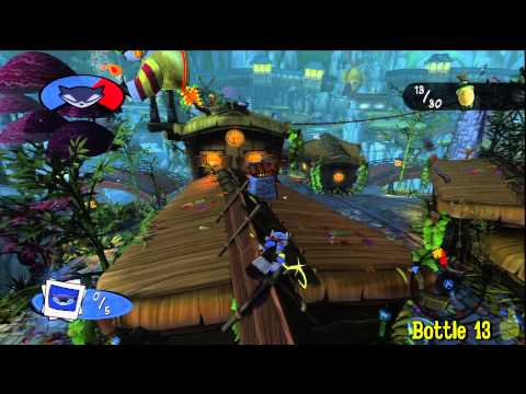 Sly Cooper Thieves in Time: Episode 1 - Photo Op - All 30 Bottles - HTG