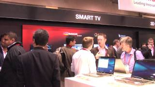 Toshiba's 2012 TV range at the CES - Big Brown Box