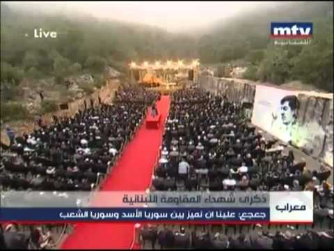 Dr SAMIR GEAGEA speachLEBANESE FORCES MASS 2012