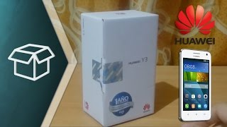 Unboxing & Review Huawei Y3 (Y360)