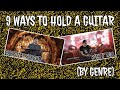 9 ways to hold a guitar (by genre)