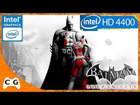 Segurando bem Intel HD Graphics 4400